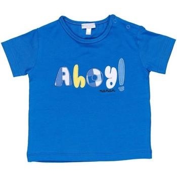Textil Rapaz T-Shirt mangas curtas Nanan E20174 Azul