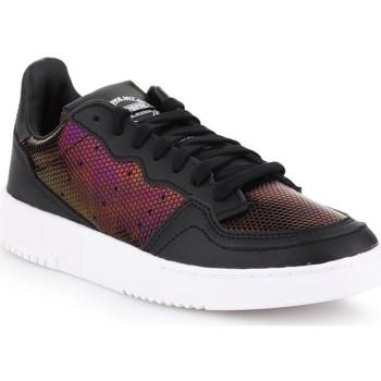 Sapatos Mulher Sapatilhas adidas Originals Supercourt W Preto, Bordô