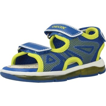 Sapatos Rapaz Sandálias desportivas Geox B SANDAL TODO BOY Amarelo