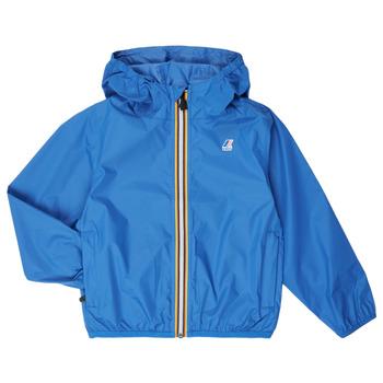 Textil Criança Corta vento K-Way LE VRAI 3.0 CLAUDE KIDS Azul