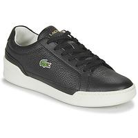 Sapatos Mulher Sapatilhas Lacoste CHALLENGE 0120 1 SFA Preto / Branco