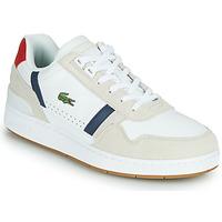 Sapatos Homem Sapatilhas Lacoste T-CLIP 0120 2 SMA Branco / Marinho / Vermelho