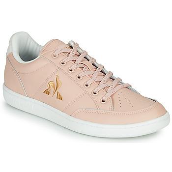 Sapatos Mulher Sapatilhas Le Coq Sportif COURT CLAY W Rosa
