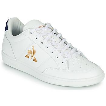 Sapatos Mulher Sapatilhas Le Coq Sportif COURT CLAY W Branco / Azul