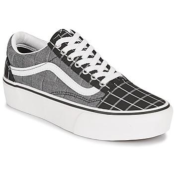 Sapatos Mulher Sapatilhas Vans OLD SKOOL PLATFORM Cinza
