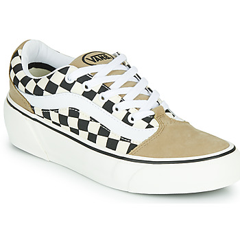 Sapatos Mulher Sapatilhas Vans SHAPE NI Bege / Branco