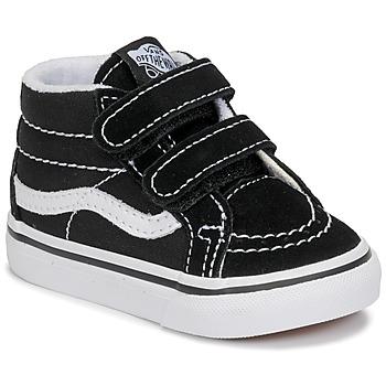 Sapatos Criança Sapatilhas de cano-alto Vans TD SK8-MID REISSUE V Preto / Branco