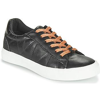 Sapatos Mulher Sapatilhas Le Temps des Cerises VIC Preto