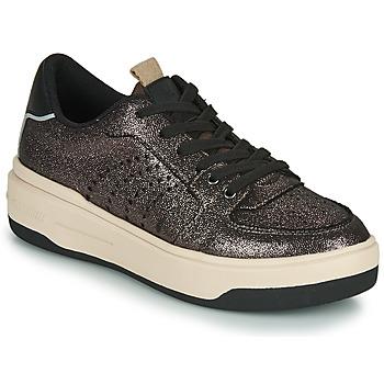 Sapatos Mulher Sapatilhas Palladium Manufacture OCA 01 Cinza