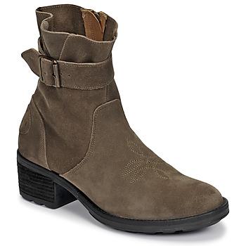 Sapatos Mulher Botins Palladium Manufacture MARGO 04 SUD Cáqui