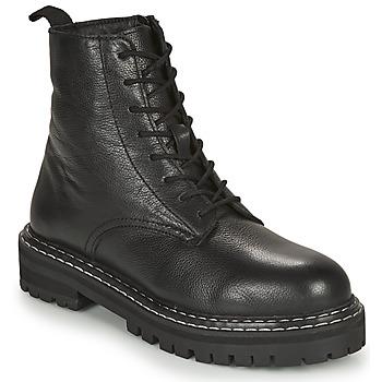 Sapatos Mulher Botas baixas Les Tropéziennes par M Belarbi REINE Preto