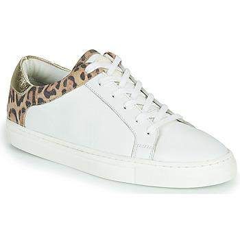 Sapatos Mulher Sapatilhas Les Tropéziennes par M Belarbi Louane Branco / Leopardo