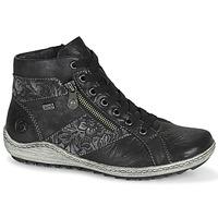 Sapatos Mulher Sapatilhas de cano-alto Remonte Dorndorf R1497-45 Preto