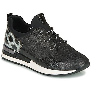 Sapatos Mulher Sapatilhas Remonte Dorndorf R2503-45 Preto / Leopardo