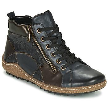 Sapatos Mulher Sapatilhas de cano-alto Remonte Dorndorf R4790-14 Azul