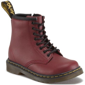 Sapatos Mulher Botas baixas Dr Martens 1460 T Softy T Cherry Red Softy T Rood
