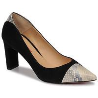 Sapatos Mulher Escarpim Perlato JAMIRI Preto / Bege