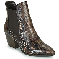 Sapatos Mulher Botins Perlato JAMOG Castanho