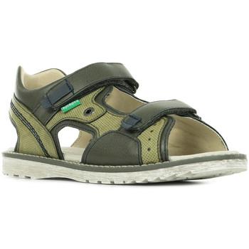 Sapatos Criança Sandálias desportivas Kickers Pepper Verde