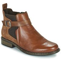Sapatos Mulher Botins Rieker Z49A9-24 Camel