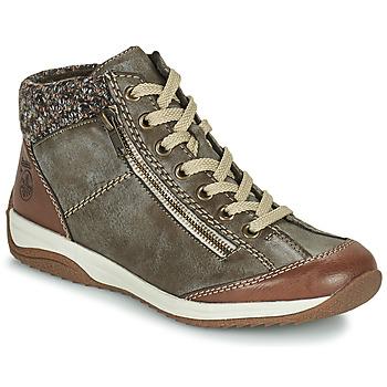 Sapatos Mulher Botas baixas Rieker L5223-24 Castanho