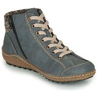 Sapatos Mulher Botas baixas Rieker L7543-14 Azul