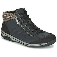 Sapatos Mulher Botas baixas Rieker  Azul