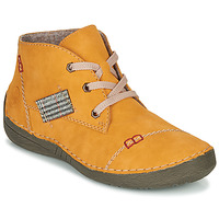 Sapatos Mulher Botas baixas Rieker PHILOMENA Amarelo