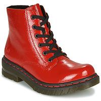 Sapatos Mulher Botas baixas Rieker 76240-33 Vermelho