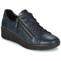 Sapatos Mulher Sapatilhas Rieker 53702-14 Azul