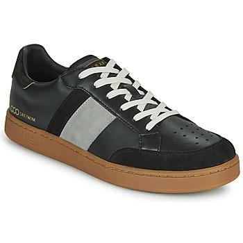 Sapatos Homem Sapatilhas Serafini WIMBLEDON Preto / Cinza