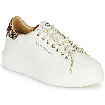 Sapatos Mulher Sapatilhas Serafini J.CONNORS Branco