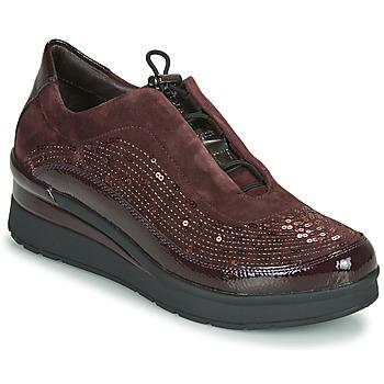 Sapatos Mulher Sapatilhas Stonefly CREAM 21 Bordô