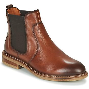Sapatos Mulher Botas baixas Pikolinos ALDAYA W8J Castanho