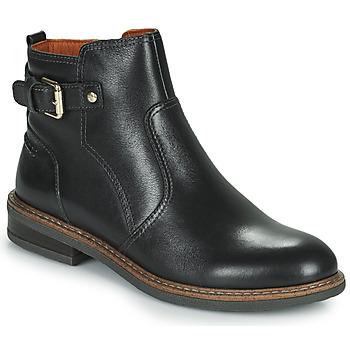 Sapatos Mulher Botas baixas Pikolinos ALDAYA W8J Preto