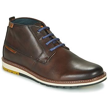 Sapatos Homem Botas baixas Pikolinos BERNA M8J Castanho