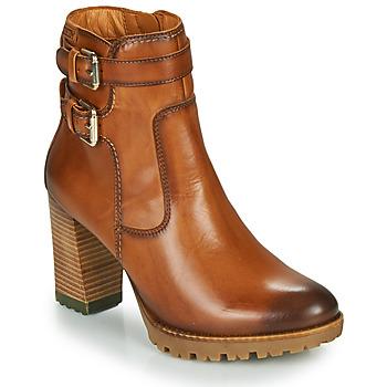 Sapatos Mulher Botins Pikolinos CONNELLY W7M Castanho
