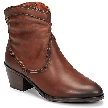 Sapatos Mulher Botins Pikolinos CUENCA W4T Castanho