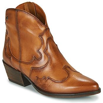 Sapatos Mulher Botins Pikolinos VERGEL W5Z Castanho