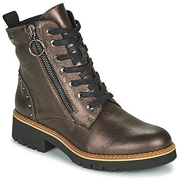 Sapatos Mulher Botas baixas Pikolinos VICAR W0V Prata