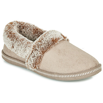 Sapatos Mulher Chinelos Skechers COZY CAMPFIRE Bege