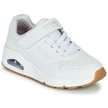 Sapatos Criança Sapatilhas Skechers UNO Branco