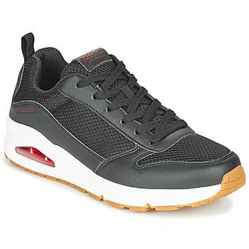 Sapatos Homem Sapatilhas Skechers UNO FASTIME Preto