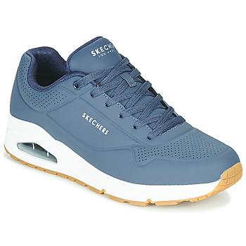 Sapatos Homem Sapatilhas Skechers UNO STAND ON AIR Marinho