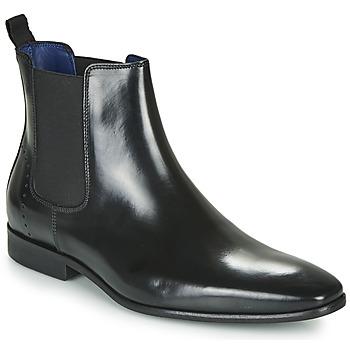 Sapatos Homem Botas baixas Azzaro JAGER Preto