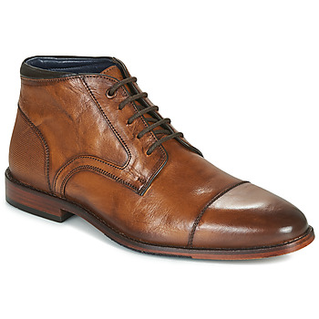 Sapatos Homem Botas baixas Azzaro TELLIS Conhaque