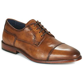 Sapatos Homem Sapatos Azzaro TILLEUL Conhaque