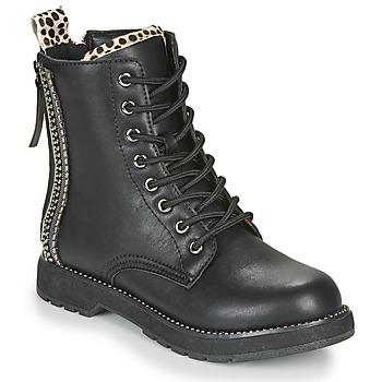 Sapatos Mulher Botas baixas Café Noir JAYTE Preto