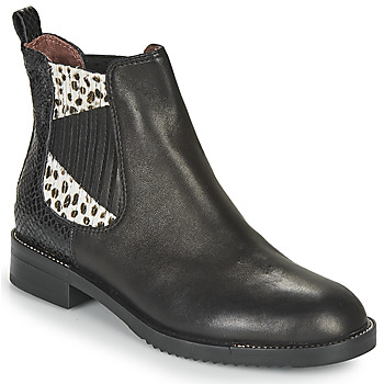 Sapatos Mulher Botas baixas Café Noir JOYE Preto