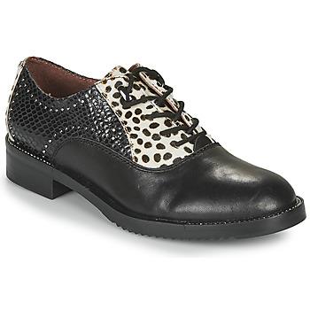 Sapatos Mulher Sapatos Café Noir JEREL Preto / Branco